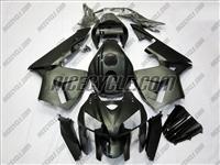 Honda CBR600RR Matte Black with Gloss Stripes Fairings