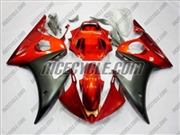 Yamaha YZF-R6 Burnt Orange Fairings