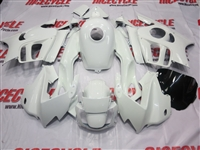Pure White Honda CBR600 F3 Motorcycle Fairings