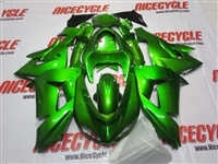 Kawasaki ZX10R Plasma Green Fairings