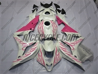 Honda CBR600RR Pink Flame Fairings