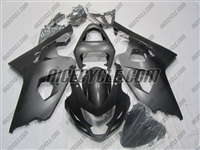 Satin Black Suzuki GSX-R 600 750 Fairings