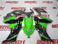 Green/Black OEM Style Kawasaki Ninja 300 Fairings