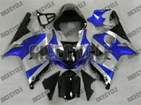 Suzuki GSX-R 1000 Candy Blue/Silver Fairings