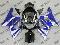 Blue/White Accents Suzuki GSX-R 1000 Fairings