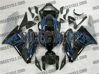 Honda CBR1000RR Blue Flame/Silver Fairings