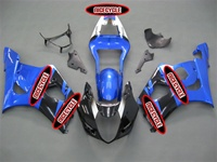 Suzuki GSX-R 1000 Sky Blue/Black Fairings