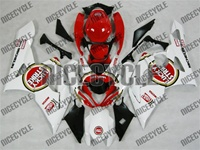 Suzuki GSX-R 1000 Red Lucky Strike Fairings
