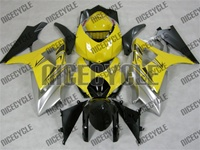 Yellow/Silver Suzuki GSX-R 1000 Fairings