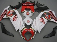 Suzuki GSX-R 1000 Lucky Strike Red Fairings