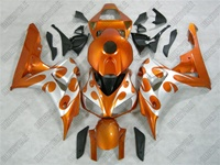 Metallic Orange Honda CBR1000RR Motorcycle Fairings