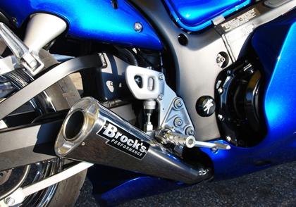 Brocks Suzuki Gsxr 1300 Hayabusa 99 07 14 Quot Muffler Alien