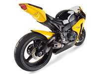 Hotbodies HONDA CBR1000RR (2008-2011) ABS Undertail w/ Built in LED Signals - Pearl Shining Yellow