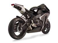 Hotbodies HONDA CBR1000RR (2008-2011) ABS Undertail w/ Built in LED Signals - Transparent Smoke