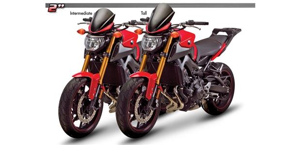 Honda Grom Price >> Yamaha FZ-09 / MT-09 '13-Present Tall Windscreen by Zero Gravity