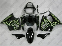 Kawasaki ZX6R Flame King Fairings