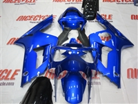Kawasaki ZX6R Metallic Blue Fairings