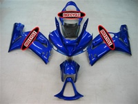 Kawasaki ZX6R Electric Blue Fairings