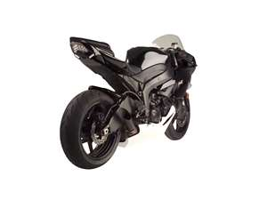 Hotbodies KAWASAKI ZX6R (09-12) ABS Undertail w/ Built in LED Signals - UNPAINTED