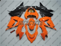 Kawasaki ZX10R Bright Orange/Black Fairings