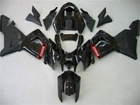 Kawasaki ZX10R Gloss Black/Matte Fairings