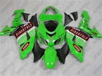 Kawasaki ZX10R Racer Green Fairings