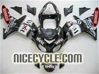 Kawasaki ZX10R West Race Fairings