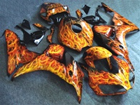 Honda CBR1000RR Airbrush Flames Fairings