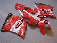 Ducati 748/916/998/996 FairingsWhite/Red