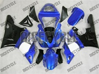 Yamaha YZF-R1 Black/White/Blue Fairings