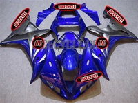 Yamaha YZF-R1 Matte/Blue Fairings