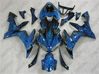 Airbrushed Yamaha YZF-R1 Fairings