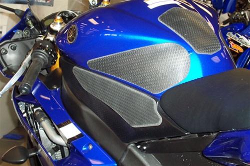 Tech Spec Snake Skin Motorcycle Tank Grips - Yamaha R6 (2006-2007)