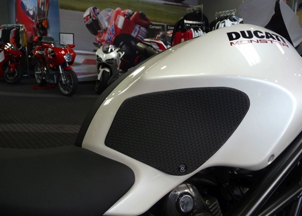 Ducati Monster 2009 Present Snake Skin Tank Grip Pads By