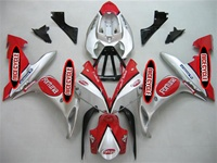 Yamaha YZF-R1 Red/Silver OEM Style Fairings