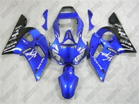 Yamaha YZF-R6 Blue Virgin Mobile Fairings