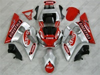 Yamaha YZF-R6 Red Fortuna Fairings