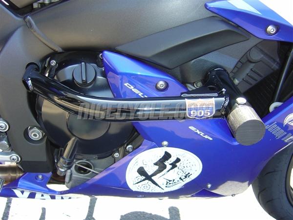 Yamaha YZF R1 Race Rail Frame Sliders Stunt Armor 2004-2006 by ...