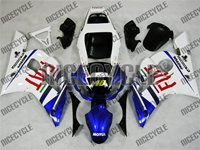 Yamaha YZF-R6 FIAT Blue Fairings