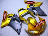 Yamaha YZF-R6 Gold Fairings