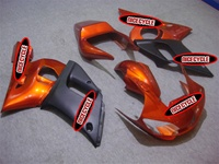 Yamaha YZF-R6 Metallic Orange Fairings