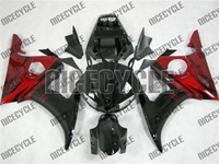 Yamaha YZF-R6 OEM Style Red Flame Fairings