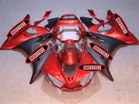Yamaha YZF-R6 Red/Matte Fairings