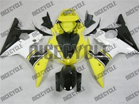 Yamaha YZF-R6 Yellow Fairings