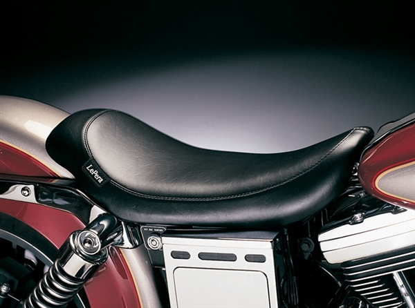 Harley Davidson Bike Covers >> Harley Davidson Dyna Wide Glide '96-'03 Silhouette Solo Seat by Le Pera