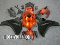 Honda CBR1000RR Orange/Black Metallic Fairings