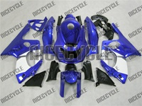 Blue Yamaha YZF-600R Fairings