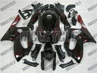 Yamaha YZF-600R Flame Red Fairings