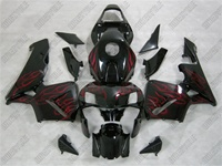 Honda CBR600RR Airbrush Red Flame Fairings