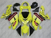 Kawasaki ZX10R Racer Yellow Fairings
